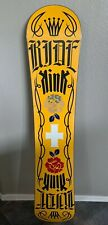 Ride Kink 147 Snowboard 147cm- Slimewall 85A   Red/Yellow