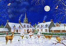 NEW! James Hamilton The Winter Village 1000 piece christmas jigsaw puzzle