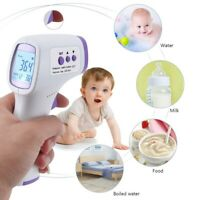 UK Infrared Digital Thermometer Non-Contact Forehead Baby*Adult Body Thermometer