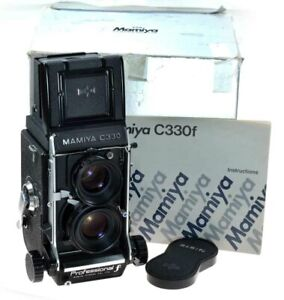 Mamiya C330 Pro F With The Later  80mm F2.8 Sekor S Lens.