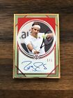 2020 ROGER FEDERER Topps Transcendent Tennis Hall of Fame Framed Red Auto #1/1