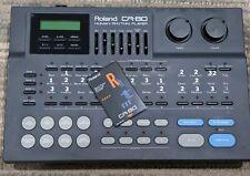 Roland CR-80 Human Rhythm Player + bonus rhythm card, Rare!