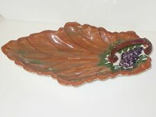 BLUE RIDGE/SOUTHERN POTTERIES INC. HAND PAINTED  CELERY TRAY