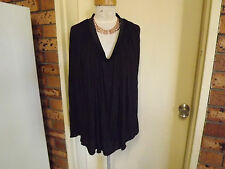 Brand New With Tags Witchery Unusual Sleeveless Long Tunic Top sz S/M RRP $59.95