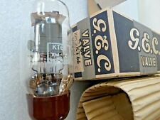 KT66  GEC   Pan  Getter  AC Valve Tube New Old Stock 1pc FEB20A