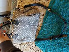15c84555ebf7 LOUIS VUITTON Speedy 30 Bandouliere Monogram Mini Lin Shoulder Bag denim  look