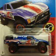 NEW Hot Wheels Toyota Off Road Truck 2016 No 152 Blue Genuine Sealed Long Card