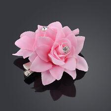Hot Popular Bridal Flower Crystal Hair Clip Wedding Bridesmaid Party Accessories