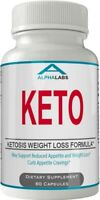 Alpha Labs Keto Weight Loss Diet Pills 60 Capsules Burn Fat In Trouble Areas