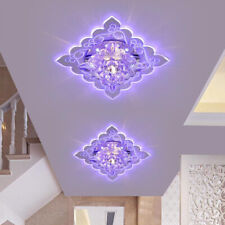 Modern LED Crystal Ceiling Light Bright Surface Mounted Lamp Chandelier LAMP US