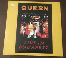 "QUEEN ""LIVE IN BUDAPEST ""  2LP RED + VINYL -  ITA  1990 ? ( UNOFFICIAL )"