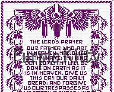 The Lord's Prayer Filet Crochet Pattern - Vintage Mail Order #7264