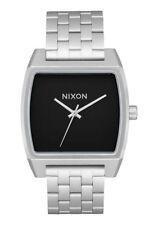 Nixon Orologio uomo time tracker black  impermeabile acciaio