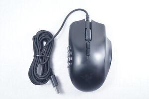 Razer Naga Trinity 5G Wired Optical Gaming Mouse w/ Chroma Lighting - Black