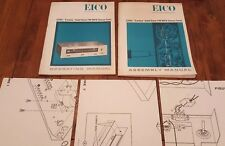 """EICO 3200 """"Cortina"""" Solid State FM-MPX Stereo Tuner Assembly & Operating Manual"""