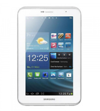 "Samsung Galaxy Tab 2 8GB 3G Android 7"" Tablet GT-P3100 3.15MP Blanco White"