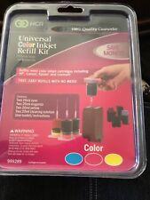 NCR Universal COLOR Inkjet Refill Kit ~ For HP~ Canon ~ Epson ~ Lexmark ~ NEW
