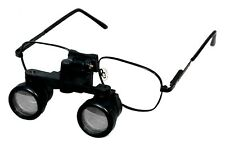 Surgical Dental Optical Binocular Loupe 4X In Metal Frame Dentistry Magnifier