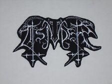 TSJUDER BLACK METAL IRON ON EMBROIDERED PATCH