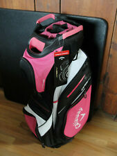 Callaway Org. 14 Cart Bag Pink/Black-New with Tags