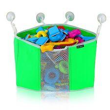 Corner Toy Shower Caddy By Lebogner - Bottom Mesh Net For Easy Drying