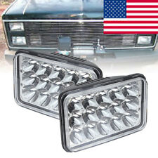 "4x6"" 45W Led Hi/Lo Beam Headlight for GMC Dodge Ford Kenworth For Jeep Chevrolet"