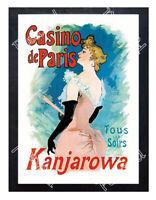 Historic Kanjarowa, Casino de Paris Advertising Postcard