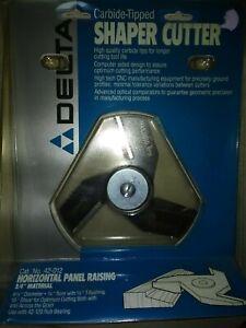 "Delta/Rockwell Shaper cutter carbide tipped 3/4"" bore # 42-012 NOS bit"