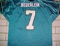 231f0477b71 Mark Brunell 8 Jacksonville Jaguars NFL AFC Wilson Teal Black Gold Jersey 52