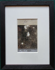 Rare CDV Star Cluster in Space 1905 - Antique Photo by Alwin Feich of Neustadt
