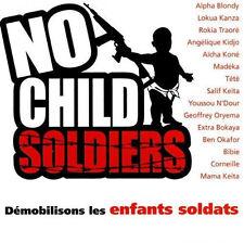 1390 // NO CHILD SOLDIERS DEMOBILISONS LES ENFANTS SOLDATS NEUF SOUS BLISTER