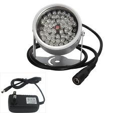 DC12V 48LED Illuminator Light CCTV IR Infrared Night Vision Power Supply Adaptor