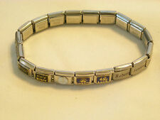 Bella Charm Bracelet Stainless Steel Stretch Links Sexy Robert Holy Bible Luck