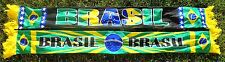 Brasilien Poly Schal 1 + BRASIL + WM 2014 + neu+  Brasil Seleção Ordem Fan