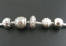 250 Mixte Perles Intercalaires Acrylique pr Bracelet Charms