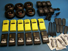6 Motorola HT750 UHF 450-512  4 Channel  Mint Condition Tested
