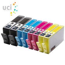 8 CHIPPED HP 364XL INK CARTRIDGES For PhotoSmart 5520 5510 6520 b110a non-oem