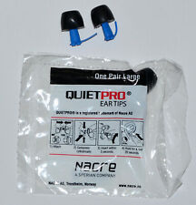 Quietpro Ear Tips 10 Pair LARGE Nacre Acoustical Filter NEW SEALED