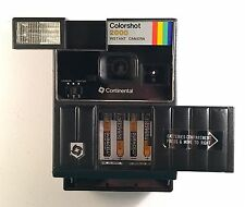 Vintage Continental Colorshot 2000 Instant Camera Rainbow Stripe