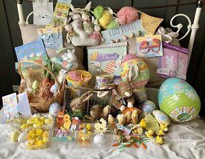 Huge Job Lot Easter Decorations - Crafts- Meri Meri Egg Hunt & Lots more