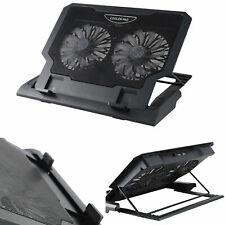 Laptop Cooler Stand 2 Large Fans Tilt for 15 17 Inch Laptop Cooling Pad L136