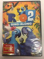 NEW!!  Rio 2 + Sing-Along (DVD)