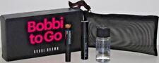 Nib Bobbi Brown Mascara, Cream Shadow, Makeup Remover & Bag Travel Size !