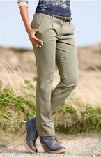 Chinohose Langgröße 72 khaki leichte Hose Sommerhose Gr. 36 Gürtel NEU