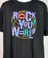 Vtg 80s Cronies Rock And Roll Hall Of Fame Men's Black T-Shirt XL