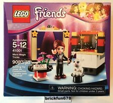 Lego Friends 41001 Mia's Magic Tricks New In Factory Sealed Box