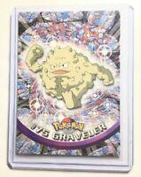 VG//NM Series 1 #75 Topps 1999 Graveler Pokemon Card