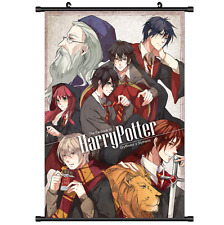 Magic Novel Anime Gryffindor House Harry.Potter wall Scroll poster 2606