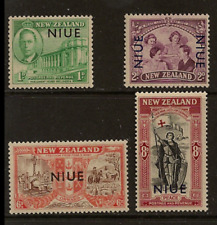 Niue - 1946 - Sc 90 - 93 - Peace Issue MH