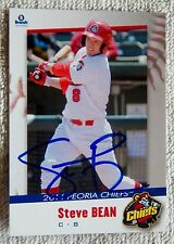 St. Louis Cardinals Steve Bean Signed 2014 Peoria Chiefs Auto Card